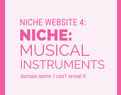 Niche Website Project 4 Musical Instruments