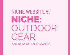 Niche Website Project 5 Outdoor Gear